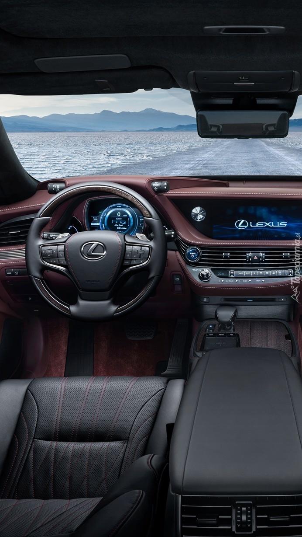 Wnętrze  Lexusa LS 500h 2017