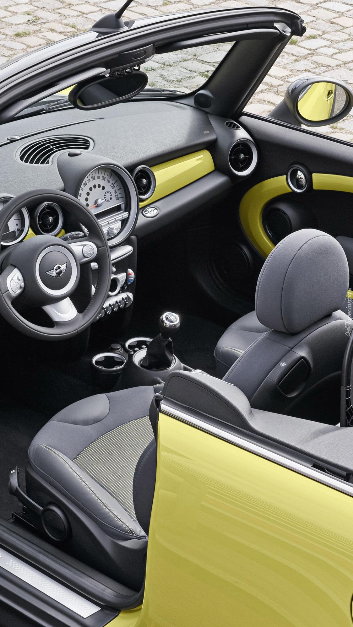 Wnętrze Mini Cabrio