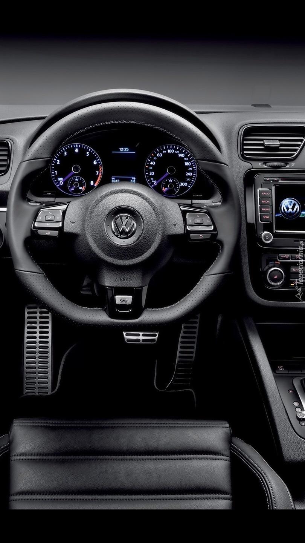 Wnętrze VW Scirocco