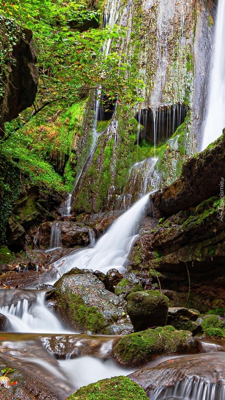 Wodospad Erlenbacher Tobel