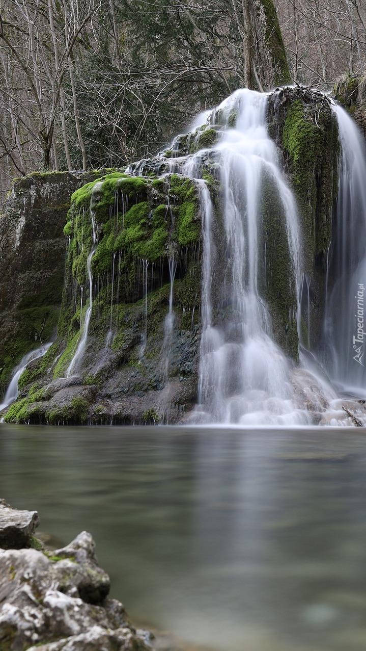 Wodospad Gutersteiner w Niemczech