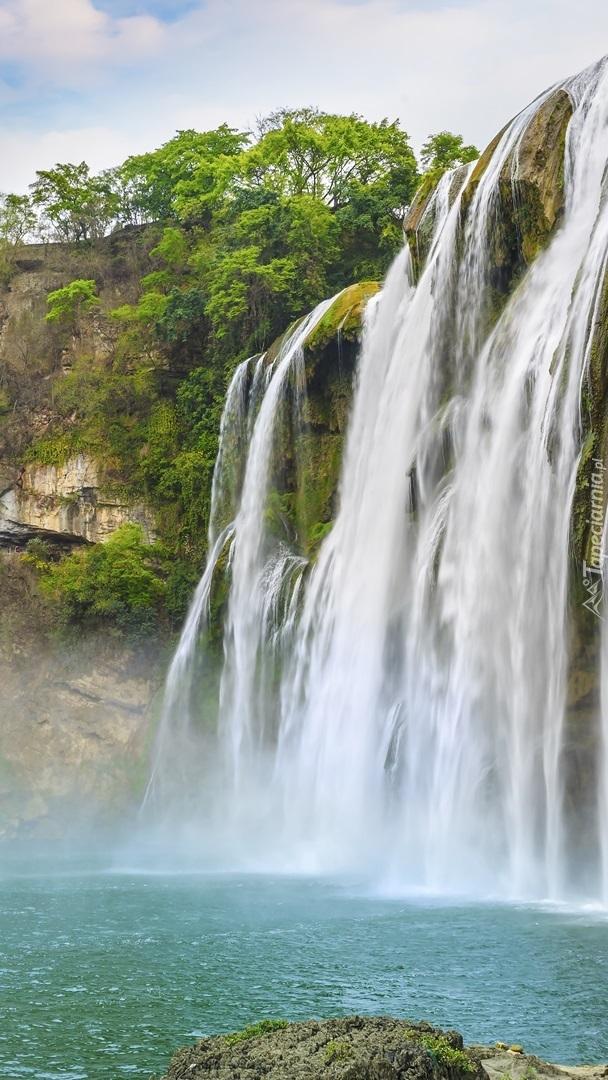 Wodospad Huangguoshu Falls w Chinach