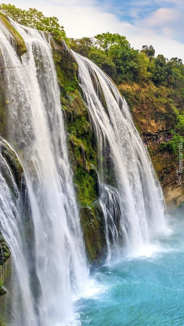 Wodospad Huangguoshu w Chinach