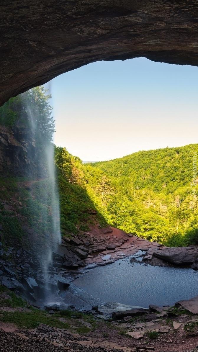 Wodospad Kaaterskill Falls