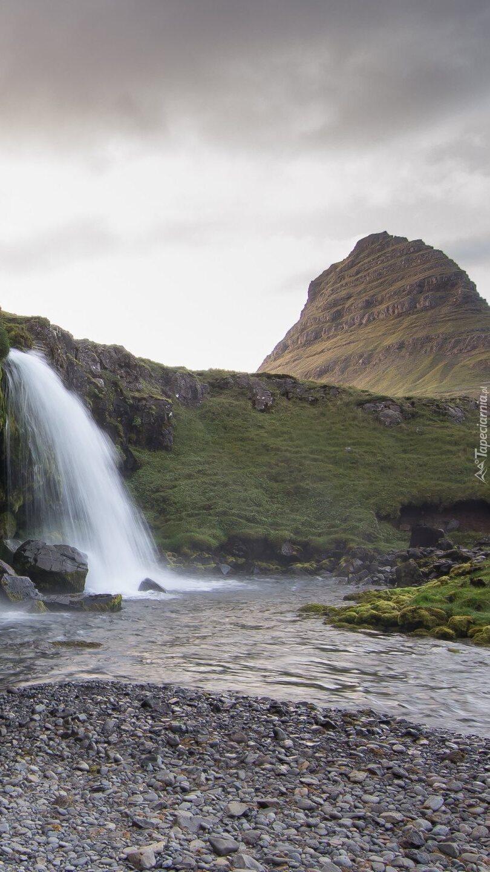 Wodospad Kirkjufellsfoss