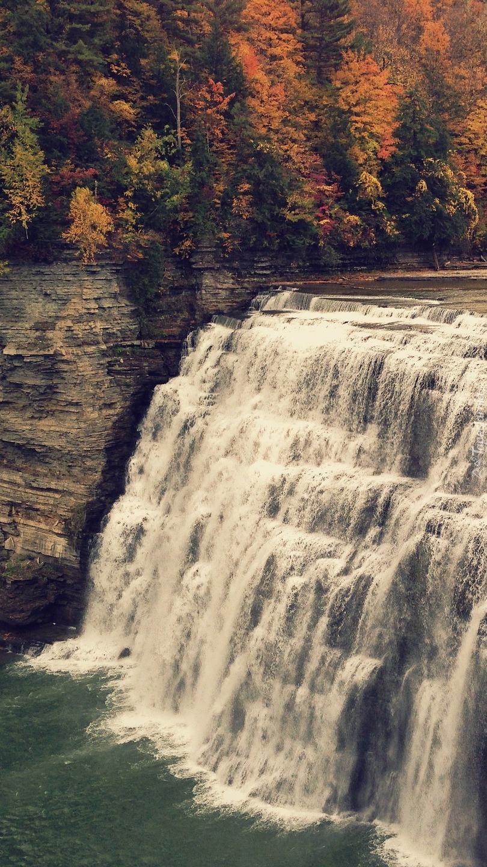 Wodospad Middle Falls