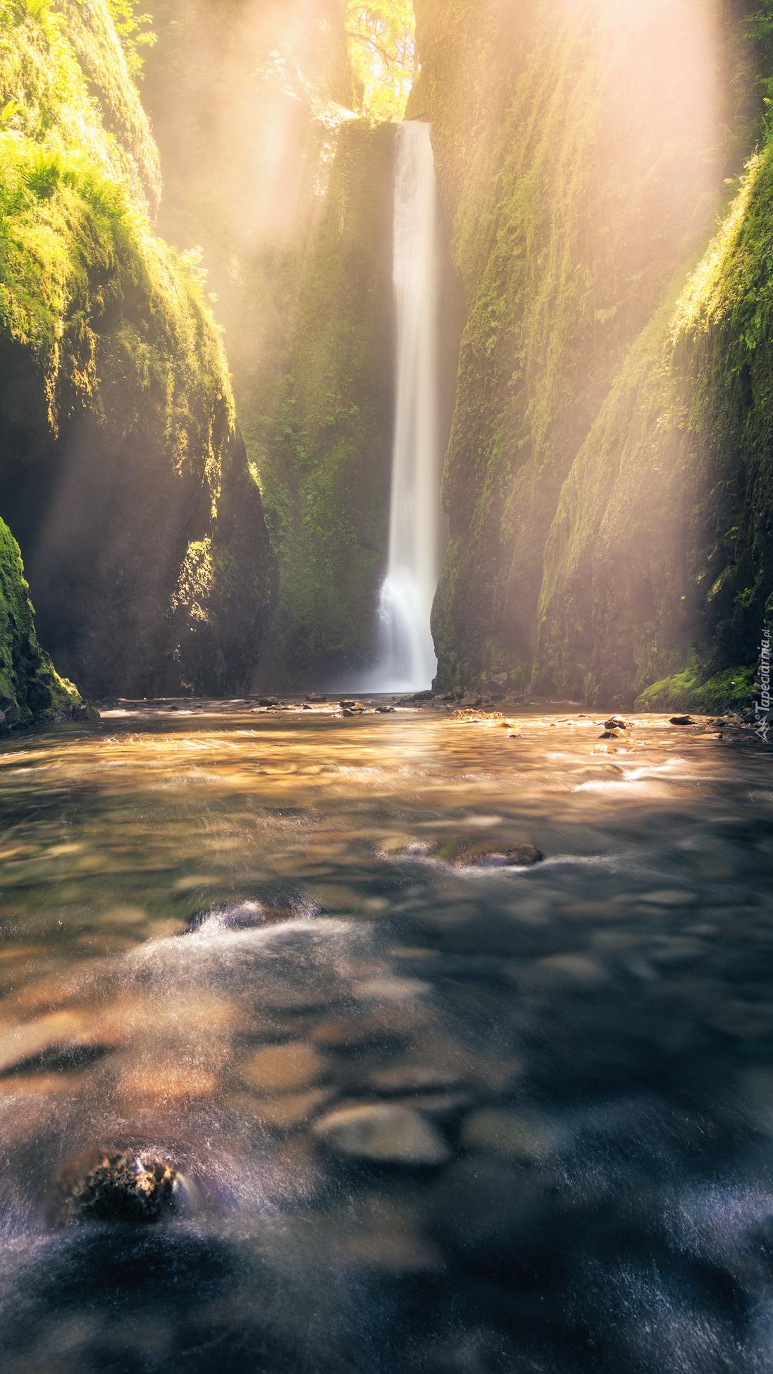 Wodospad Oneonta Gorge