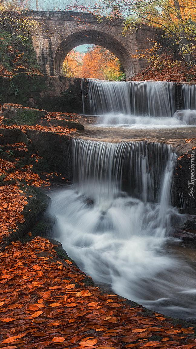 Wodospad Sitovski Waterfall