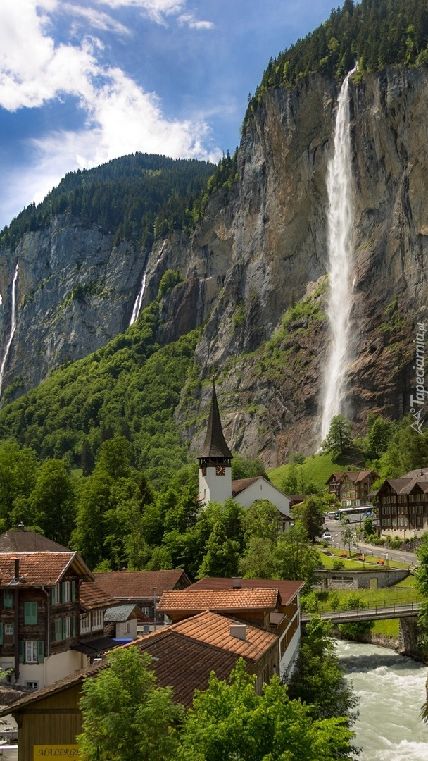 Wodospad Staubbach