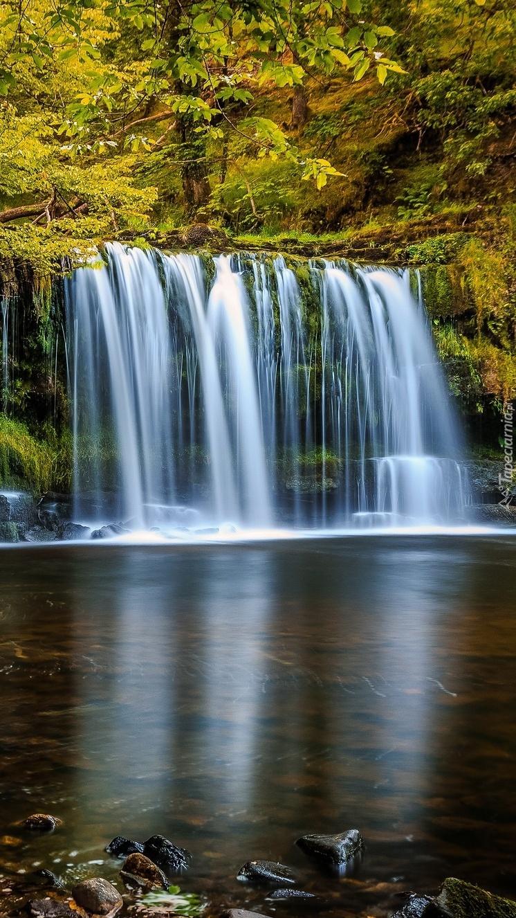 Wodospad w Walii