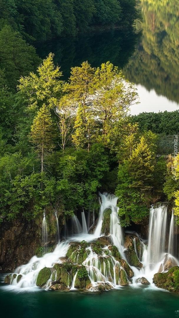 Wodospady w Parku Narodowym Jezior Plitwickich