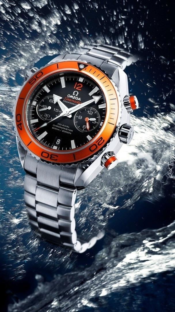 Wodoszczelny zegarek