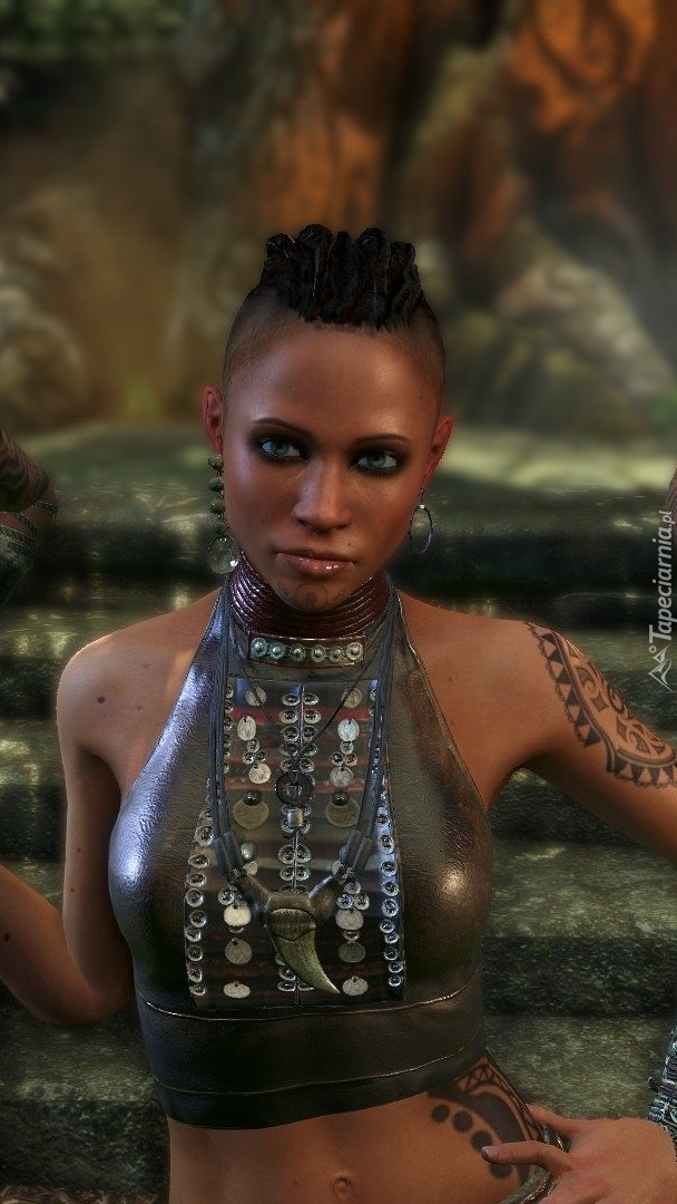 Wojowniczka Citra w grze Far Cry 3