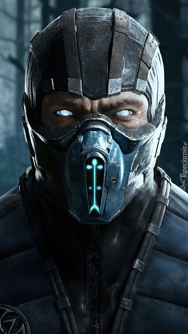 Wojownik Sub-Zero z gry Mortal Kombat