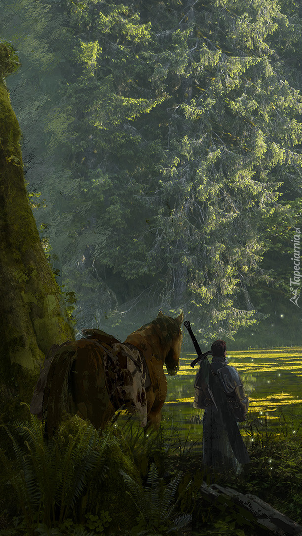 Wojownik z koniem