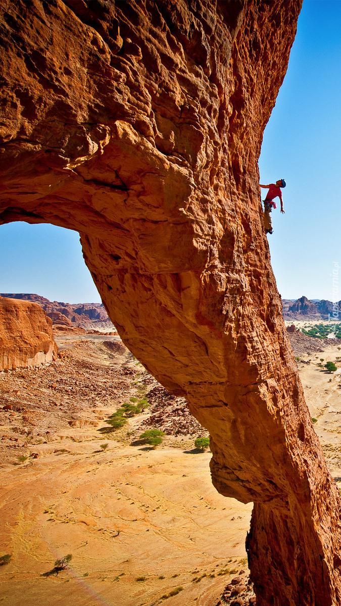 Wspinaczka w kanionie
