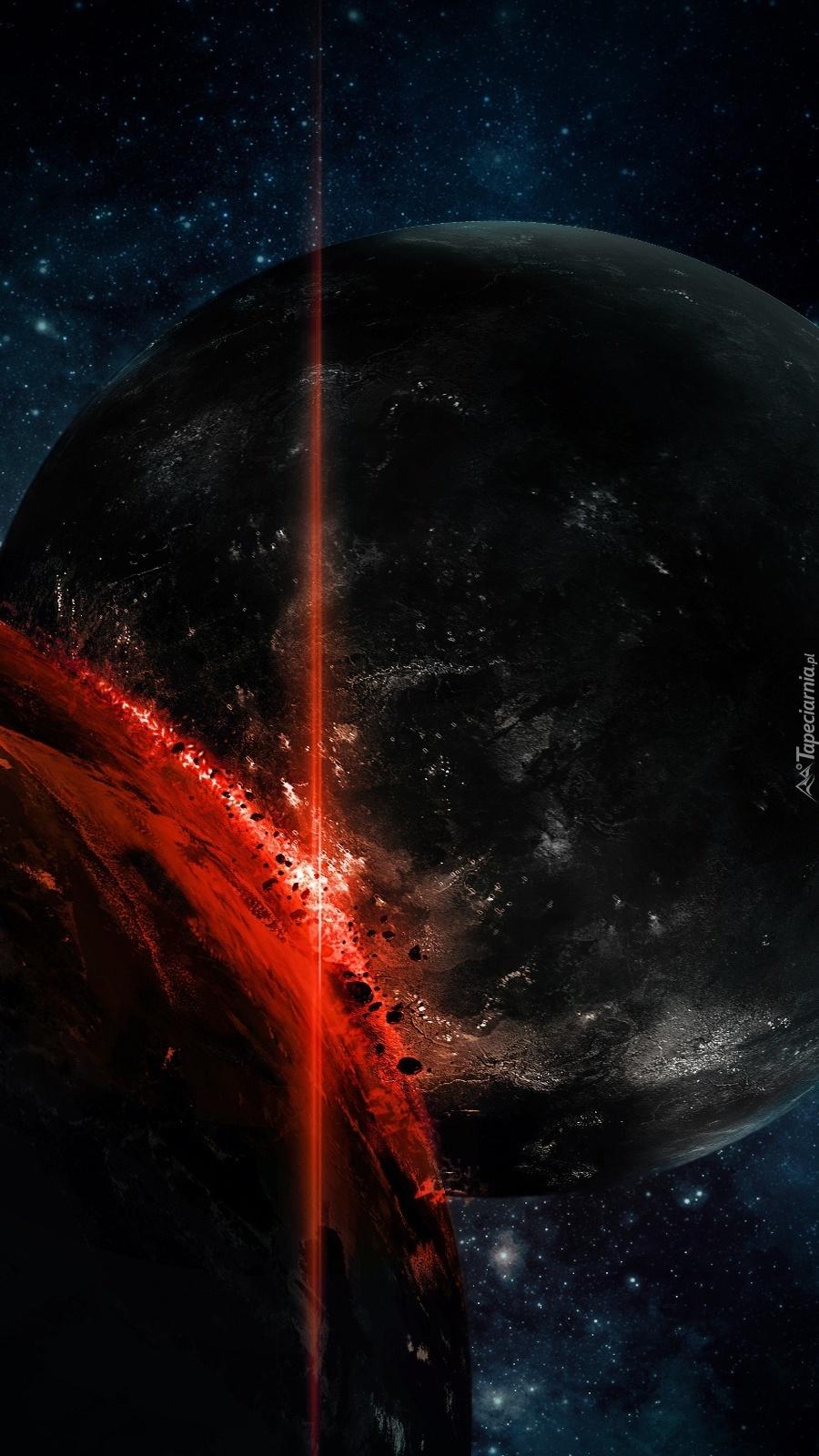 Wybuch na planecie