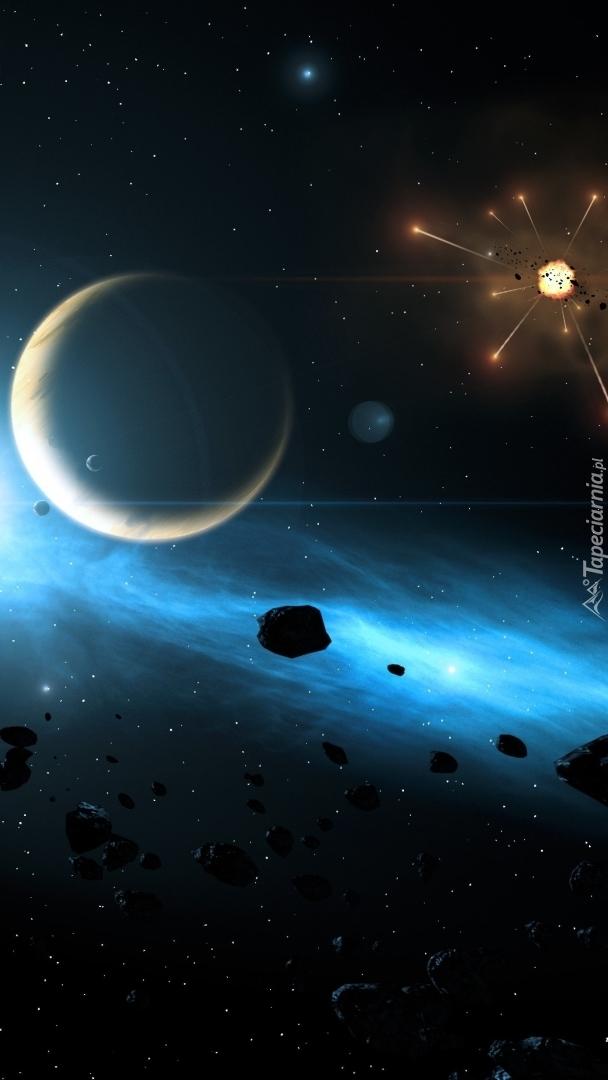 Wybuch w kosmosie