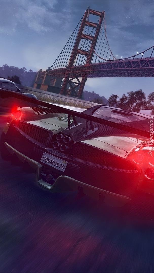Wyścig samochodów w grze
