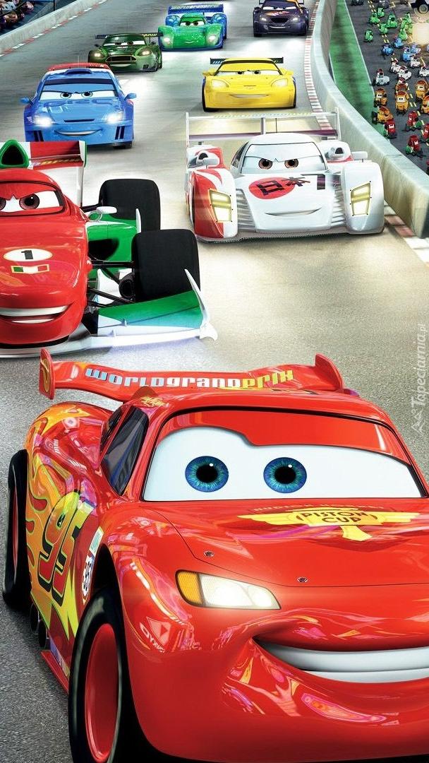 Wyścigi samochodowe z filmu Auta 2