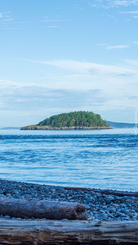 Wyspa na jeziorze