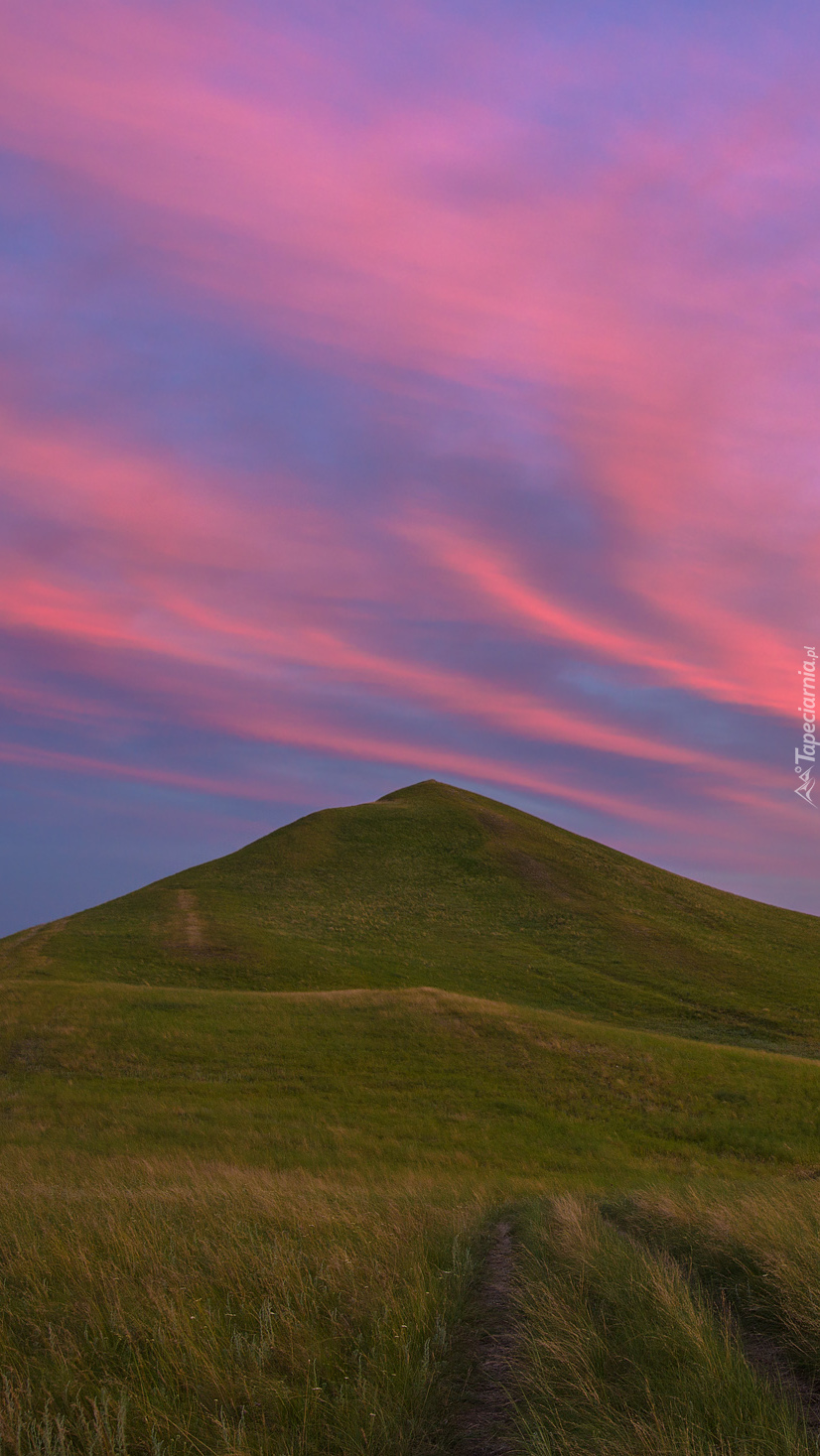 Wzgórze na tle nieba
