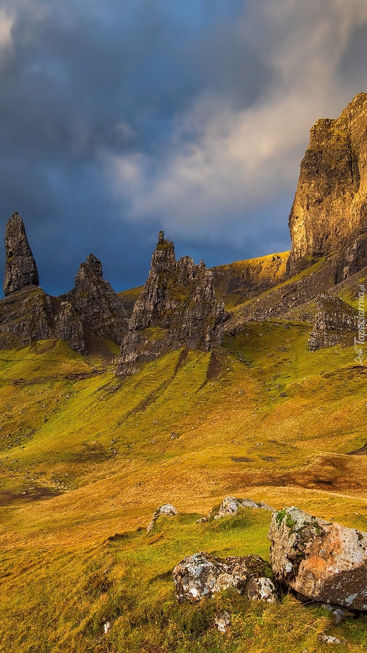 Wzgórze The Storr w Szkocji