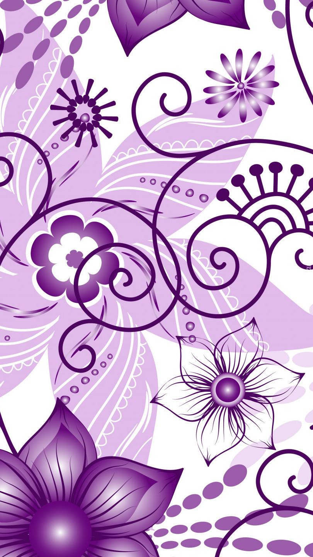 Wzory kwiatowe na teksturze