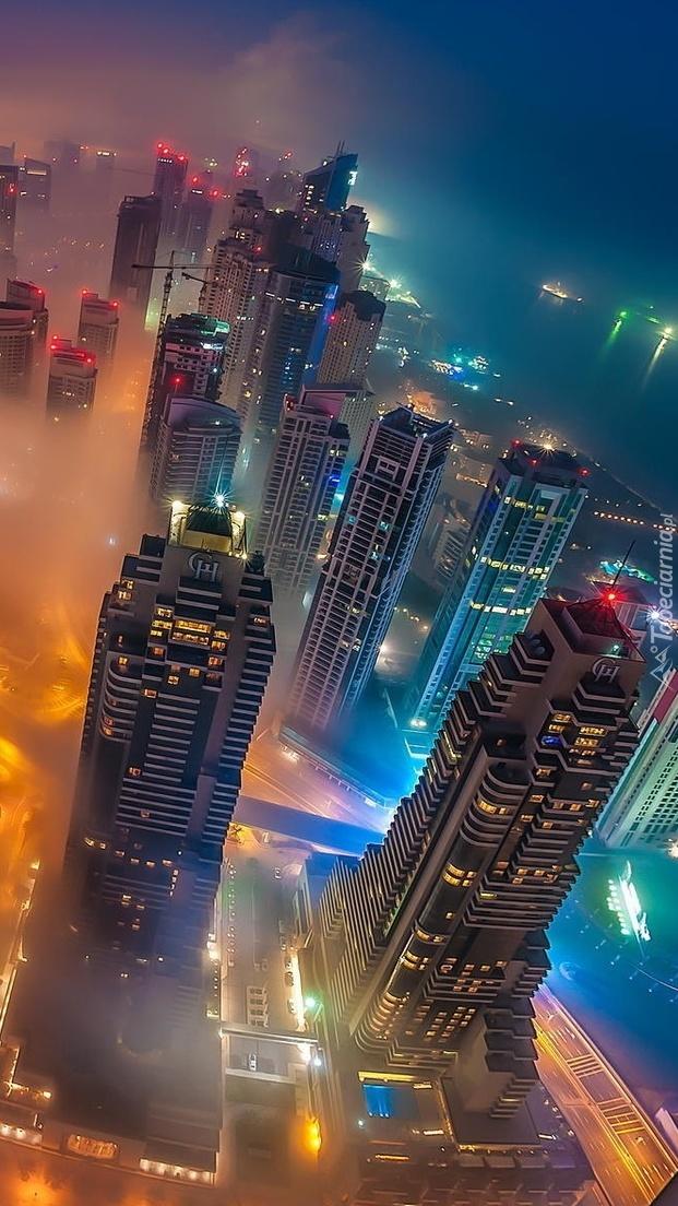 Z wysokości miasto widać jak na dłoni