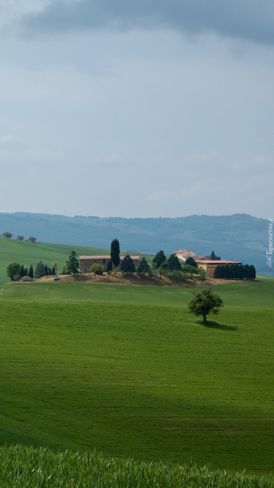 Zabudowania w Toskanii