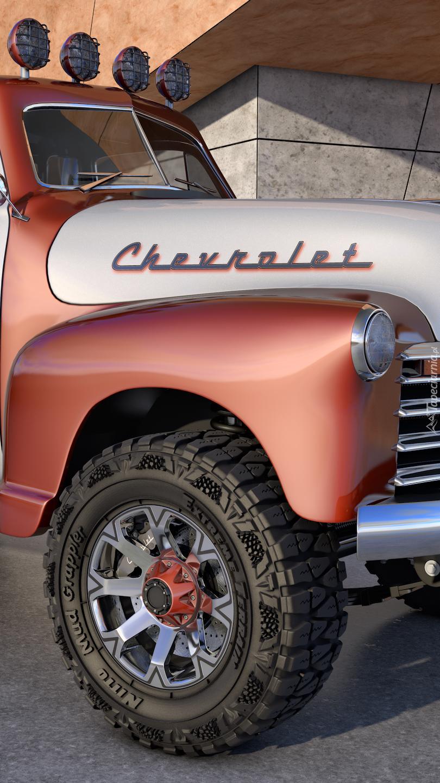 Zabytkowy Chevrolet Pickup 4x4