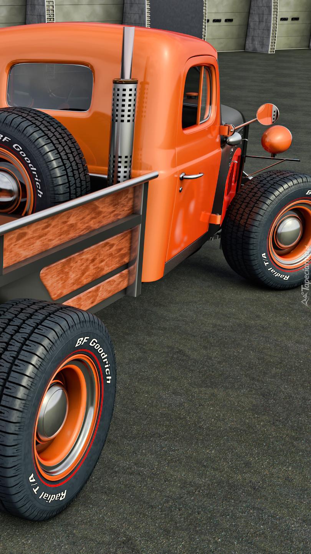 Zabytkowy Dodge Power Wagon