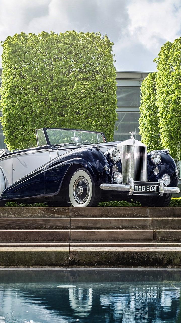 Zabytkowy Rolls Royce 1952