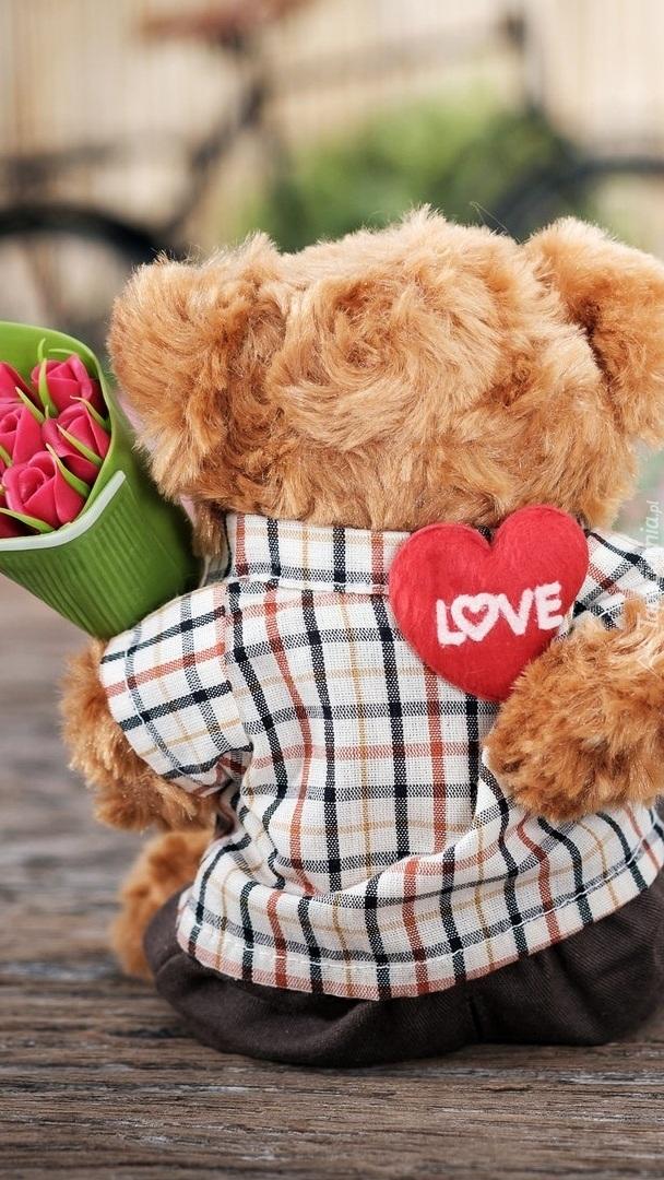 Zakochany miś