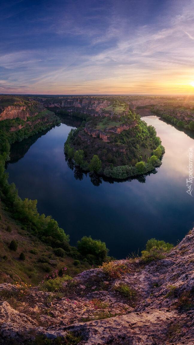 Zakole rzeki Duraton
