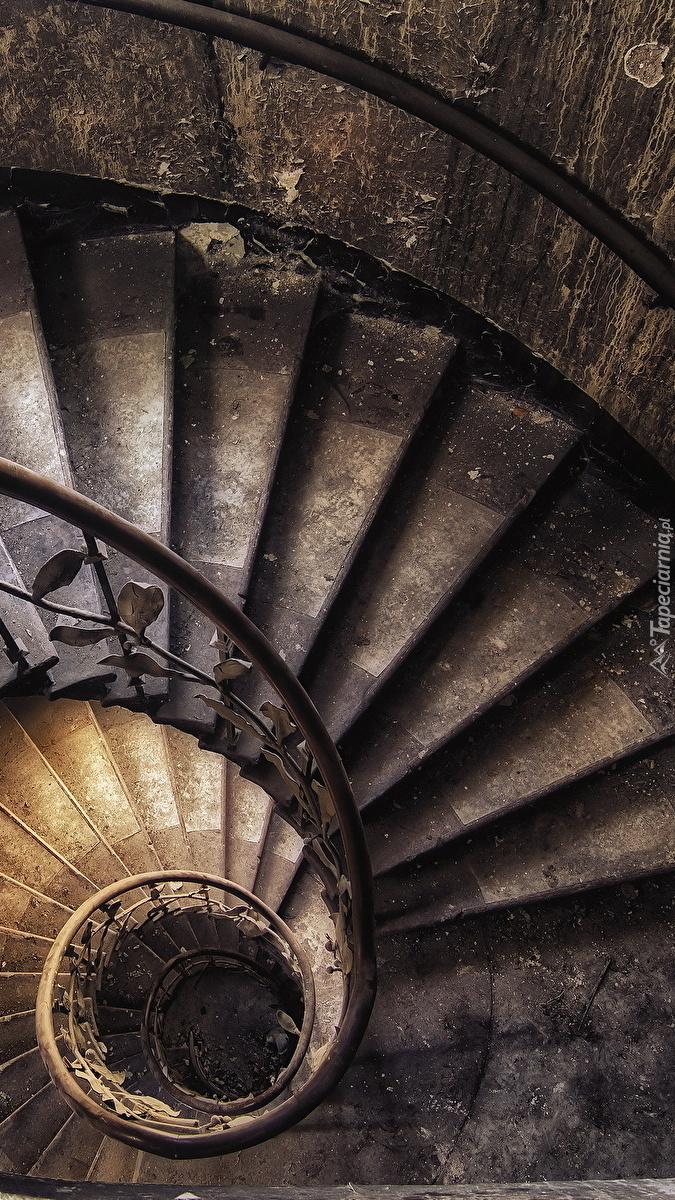 Zakręcone schody