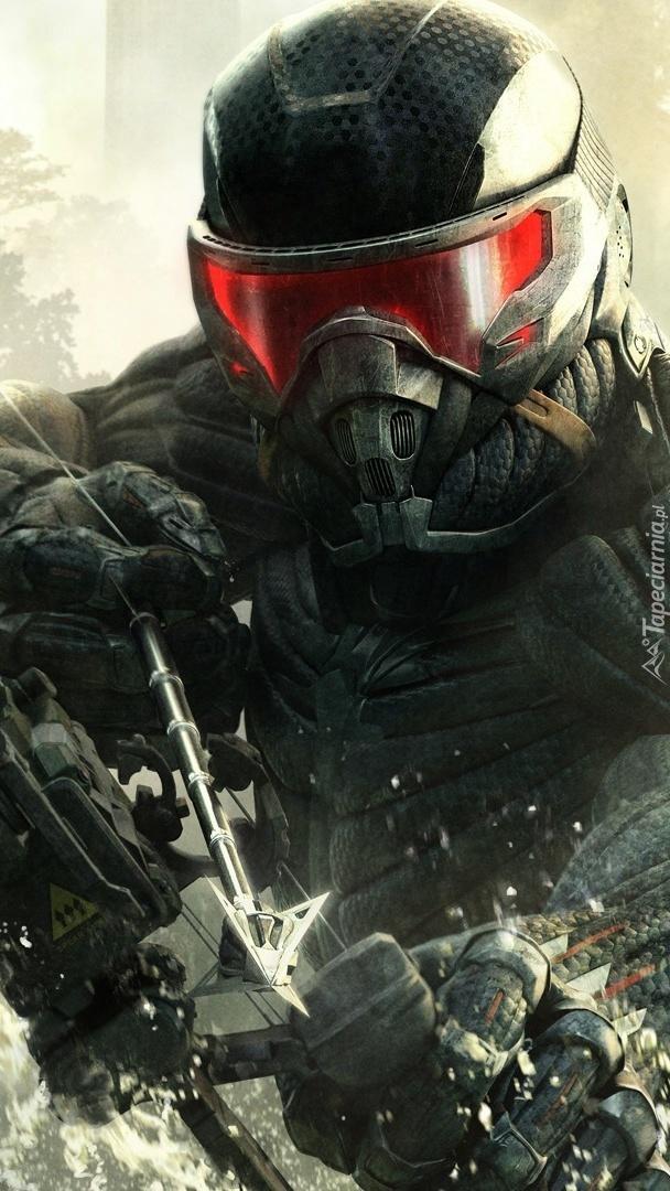 Zamaskowana postać w grze Crysis 3