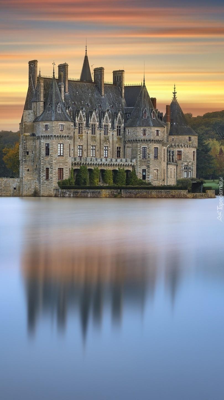 Zamek Bretesche we Francji