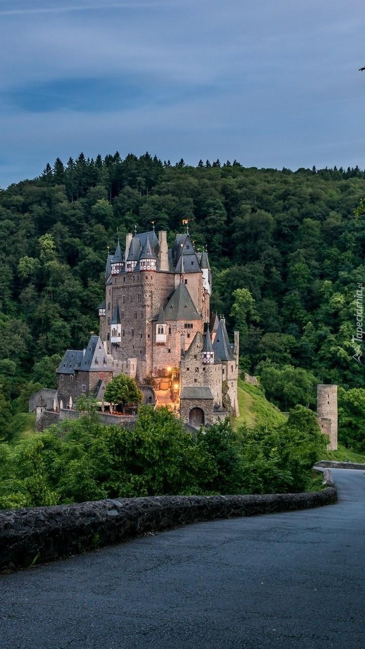 Zamek Eltz w Niemczech