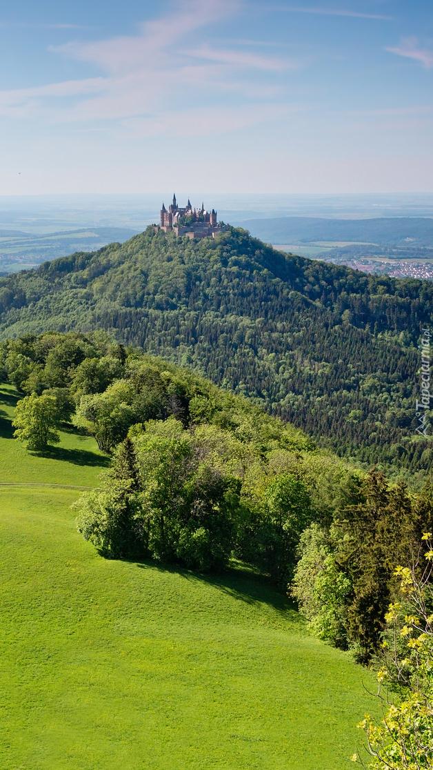 Zamek na górze Hohenzollern