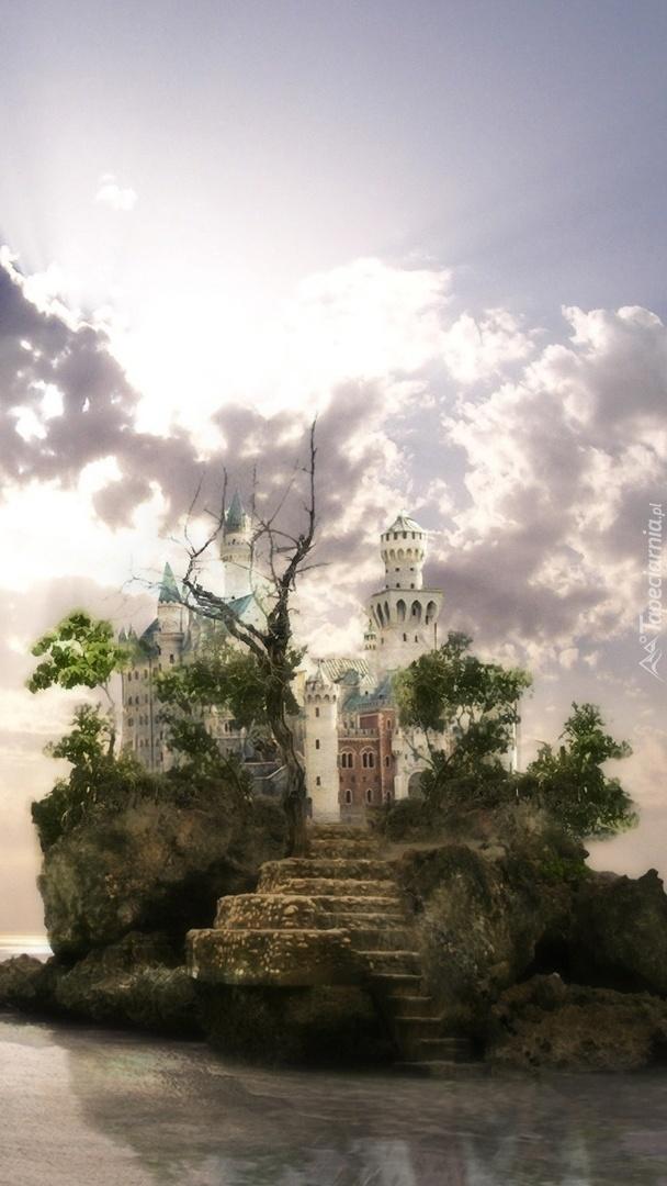 Zamek na wysepce