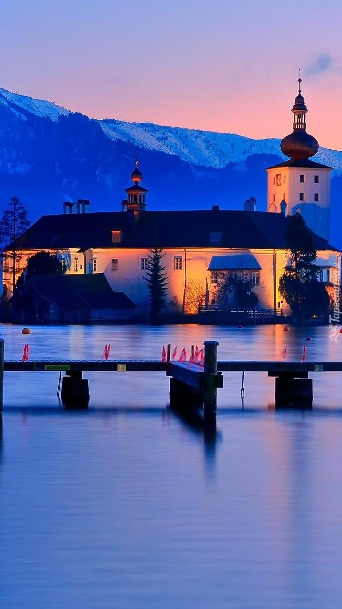 Zamek Ort nad jeziorem w Gmunden