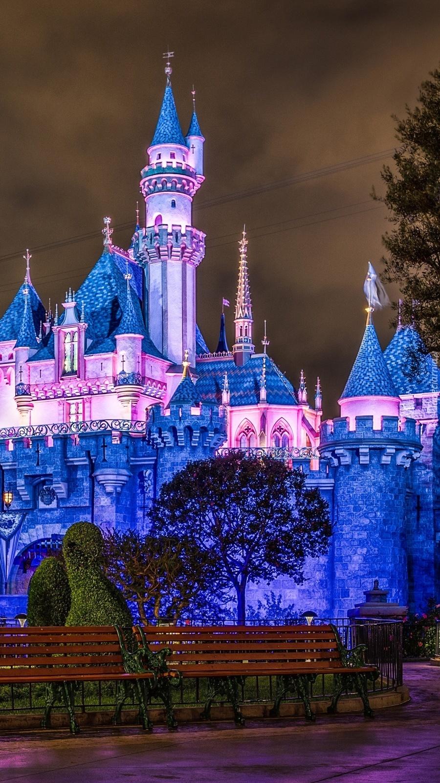 Zamek w Disneyland