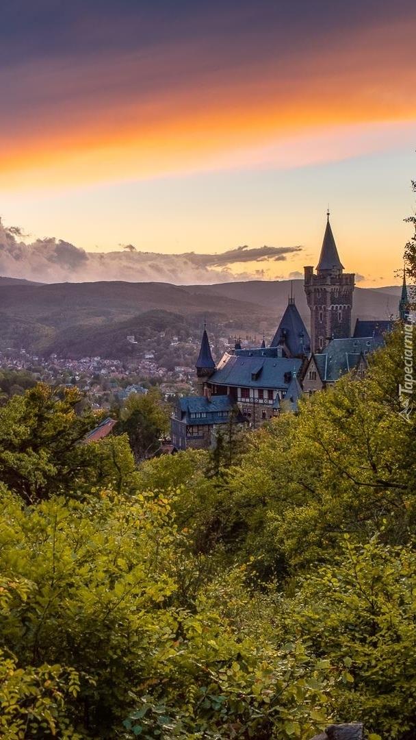 Zamek Wernigerode w Niemczech