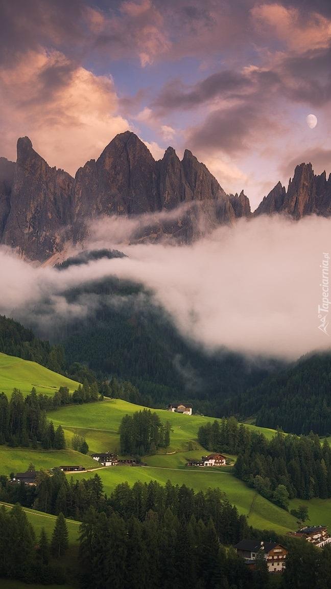 Zamglone Dolomity