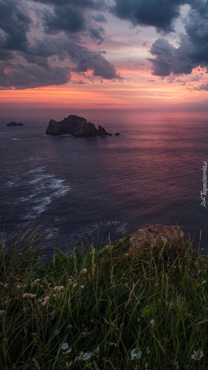 Zatoka Biskajska w Hiszpanii