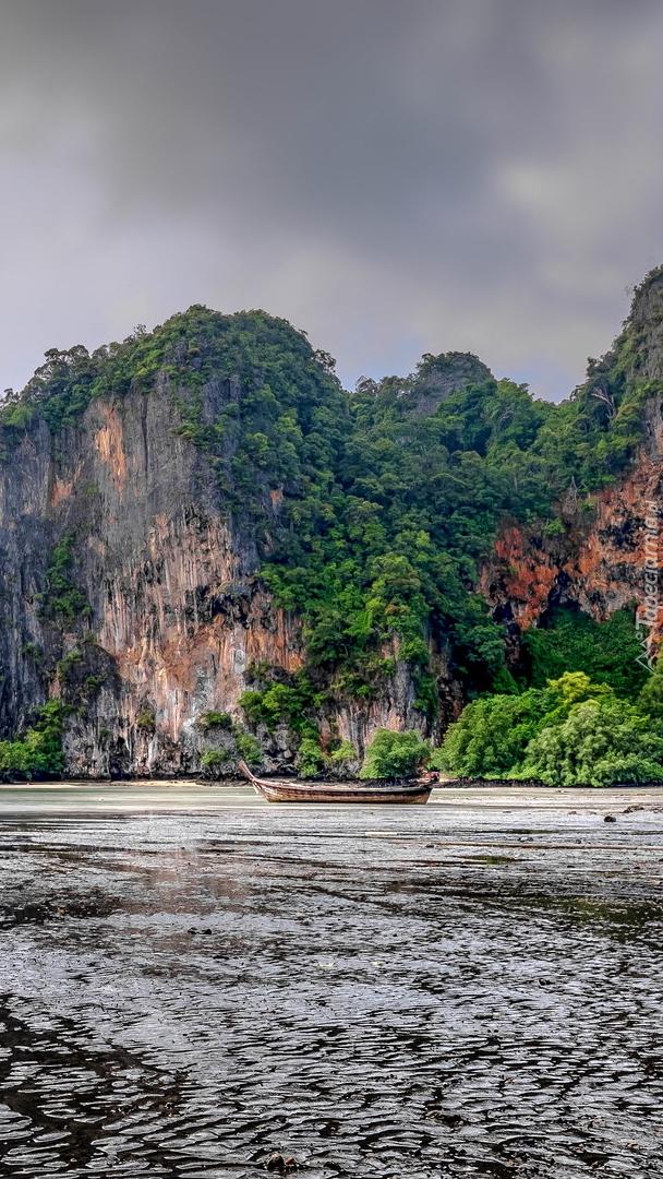 Zatoka East Railay w Tajlandii