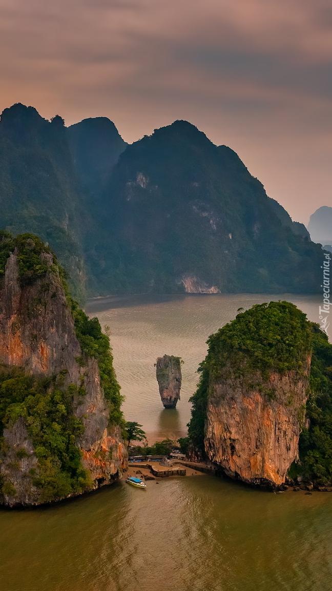 Zatoka Phang Nga na morzu Andamańskim