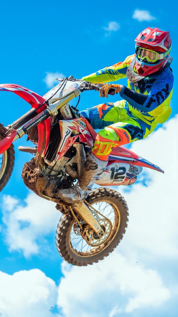 Zawodnik motocrossu