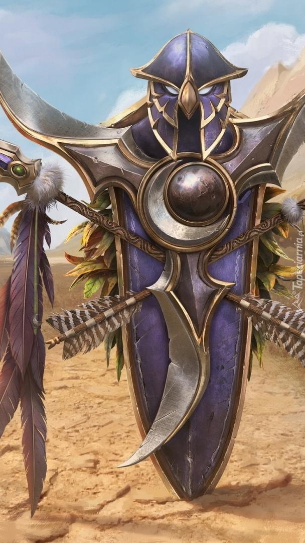 Zbroja z gry World of Warcraft 3 Reforged